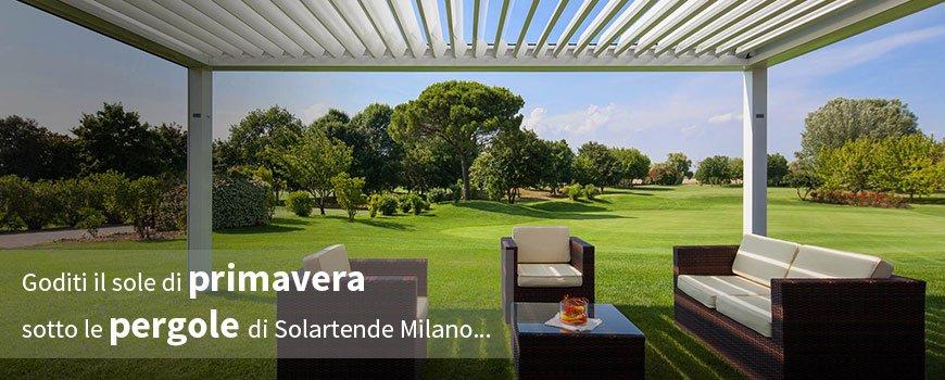 Solartende Milano - Pergole