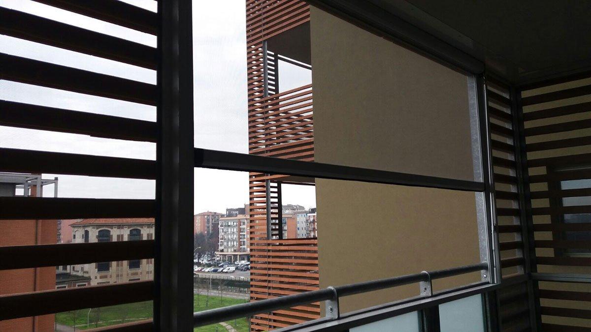zanzariere per terrazzo a Milano 4