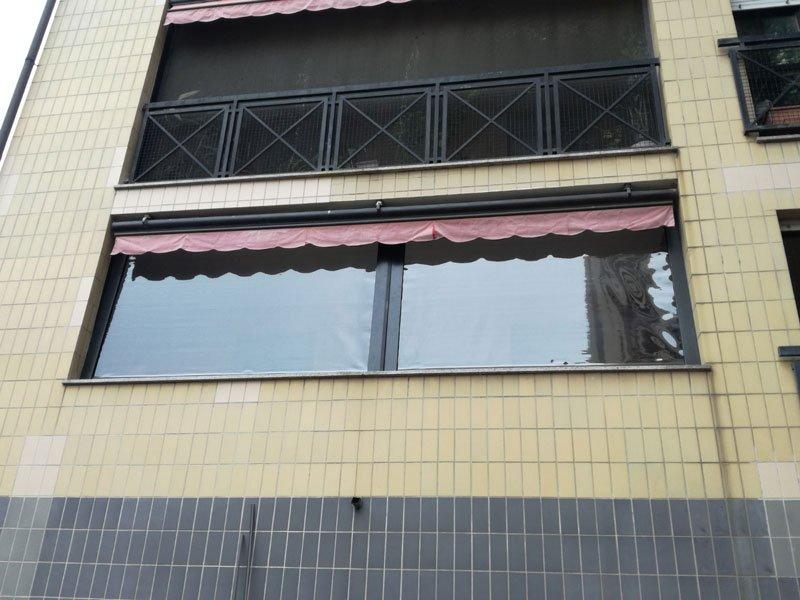 Tende in cristal pvc per finestra
