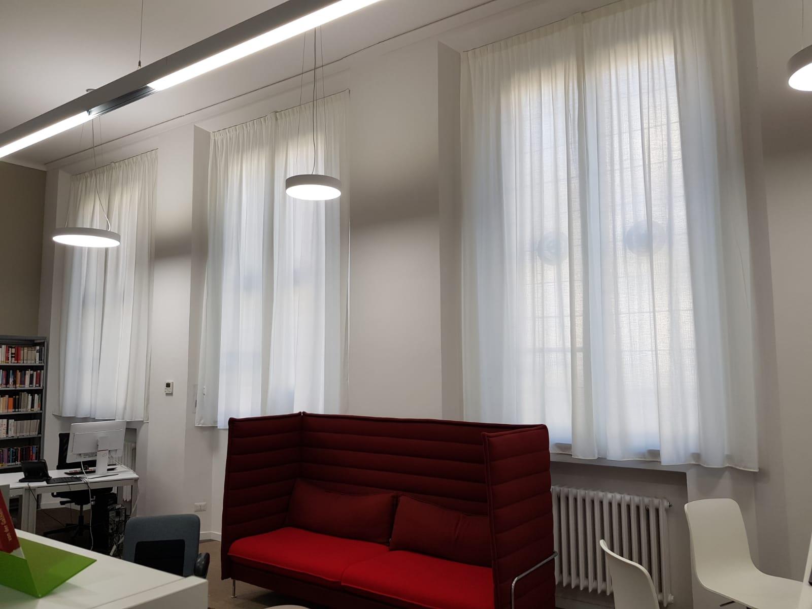 Tende interni Goethe Institut Milano