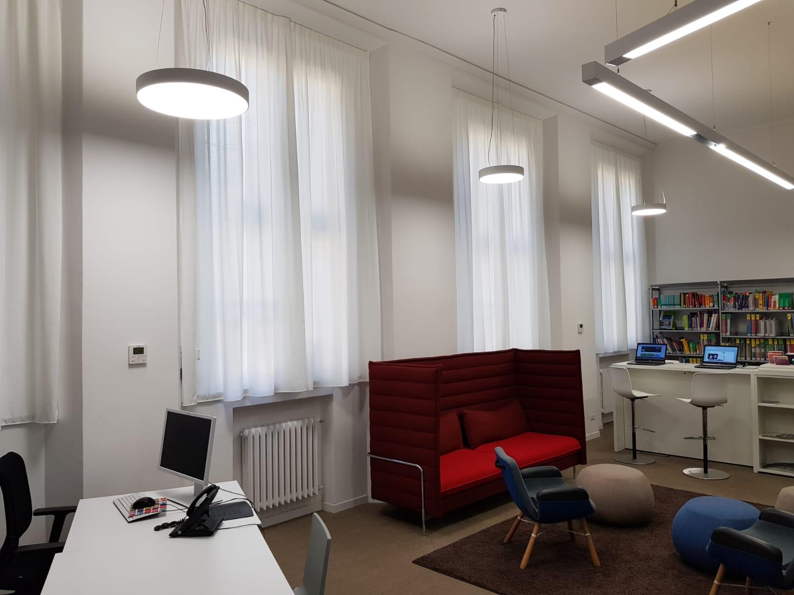 Tende interni Goethe Institut Milano - 2