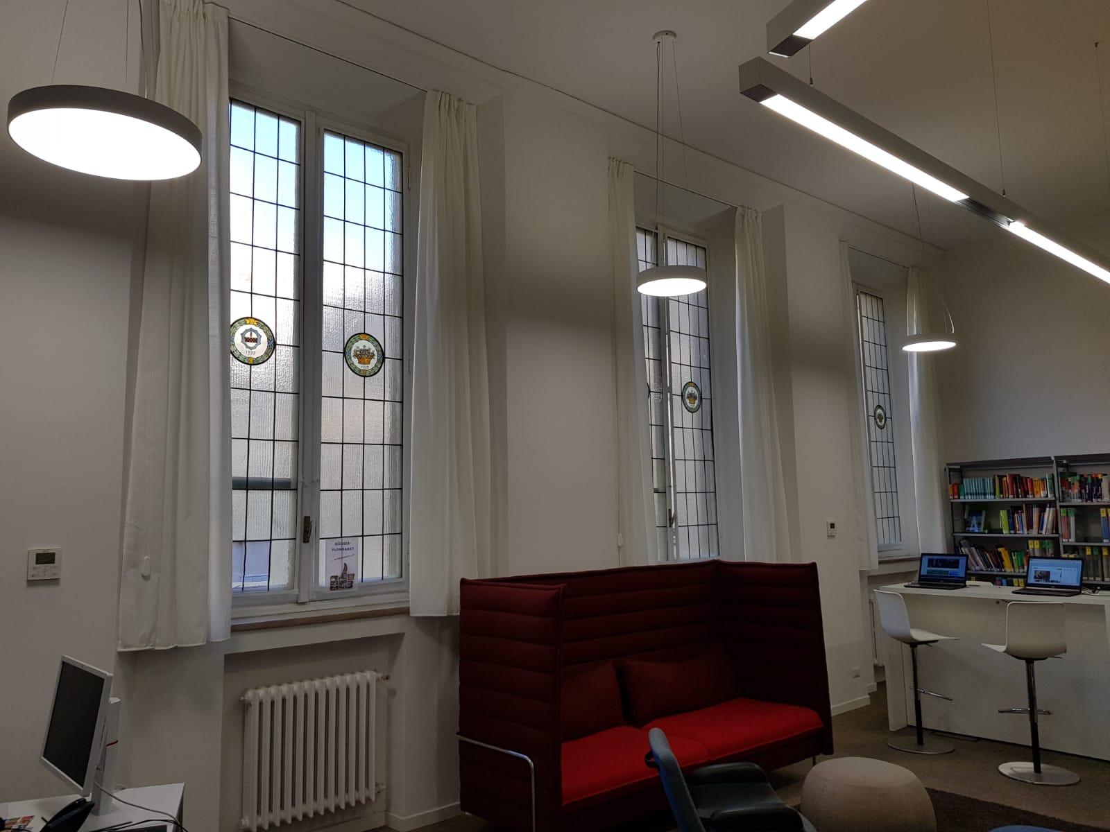 Tende interni Goethe Institut Milano - 4