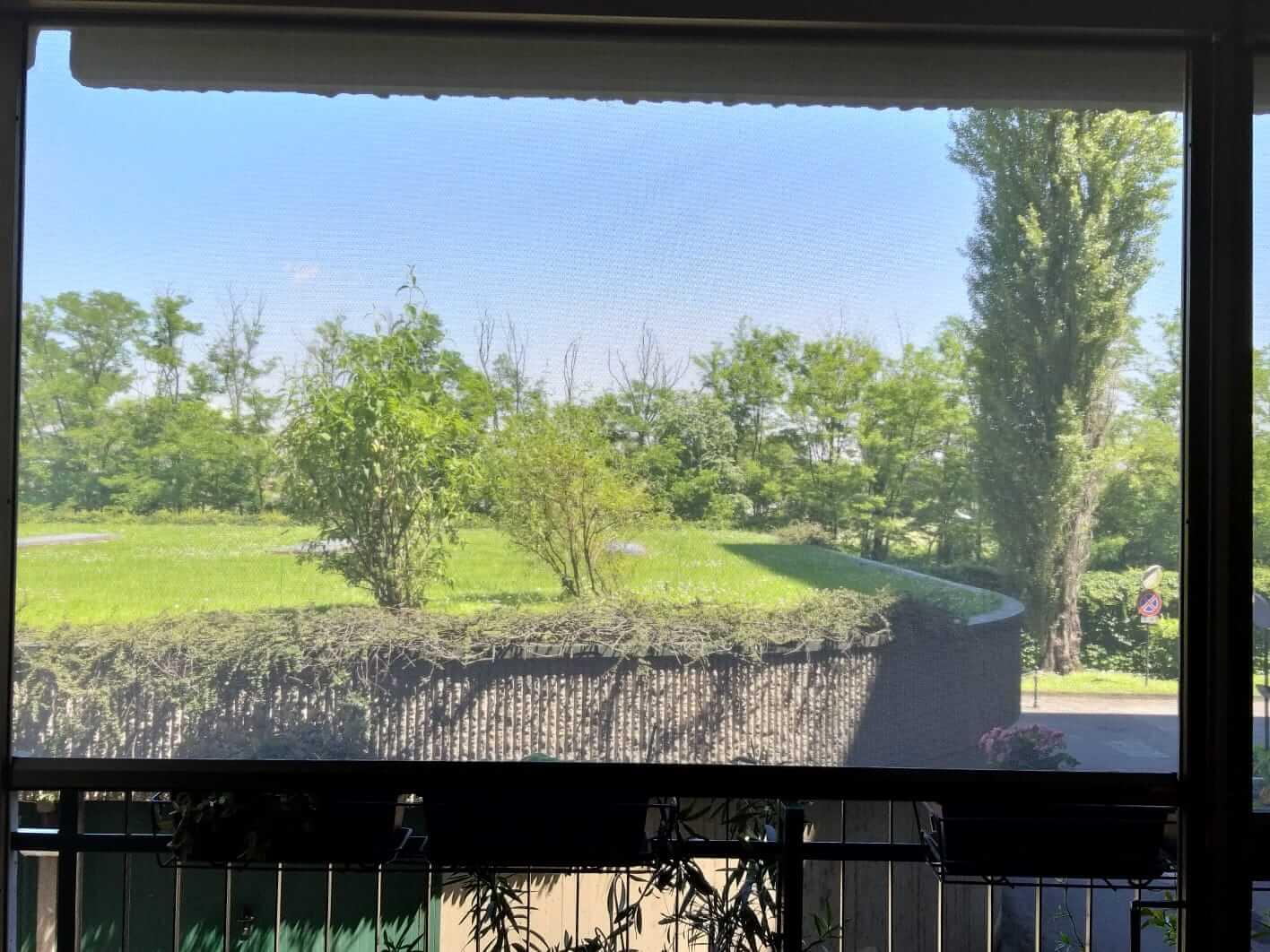 Zanzariere di grandi dimensioni - zip palagina - 5