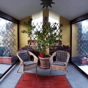 Chiusura verande in pvc