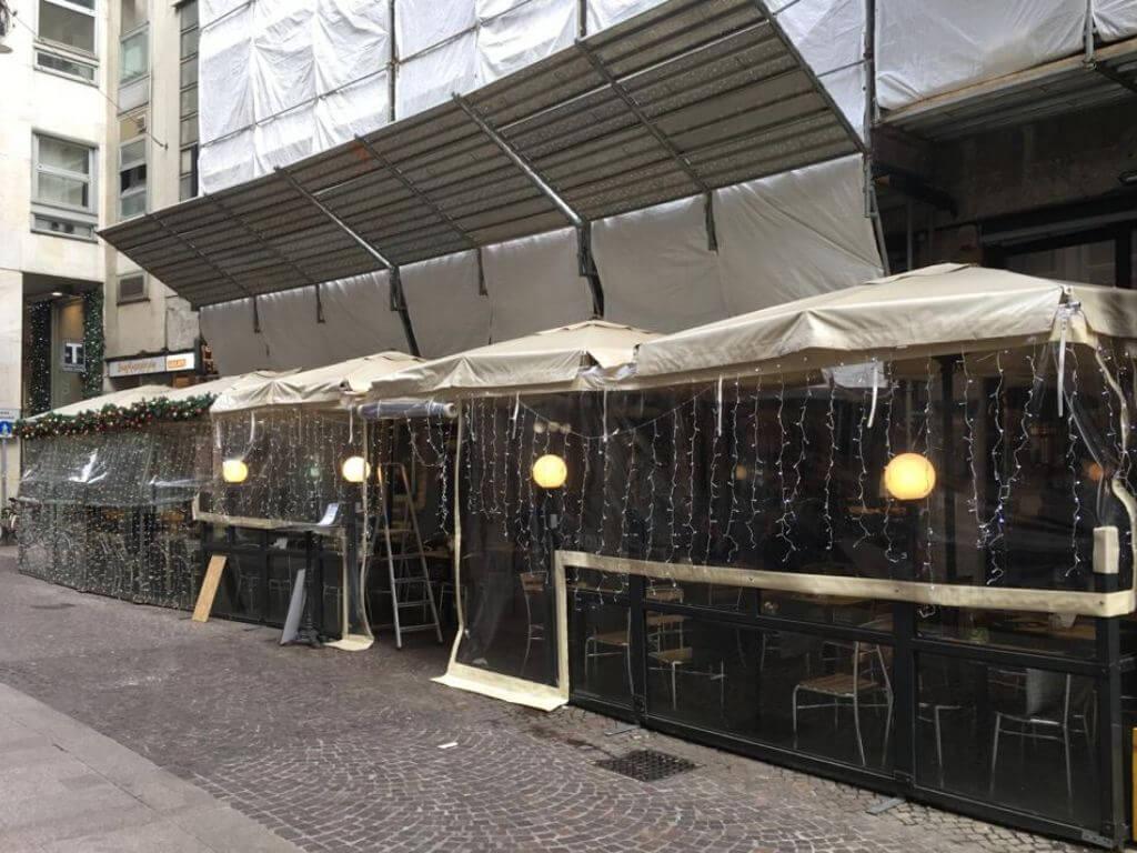 """Coperture per ristorante - bistrot """"Pandino"""" - Milano - 3"""