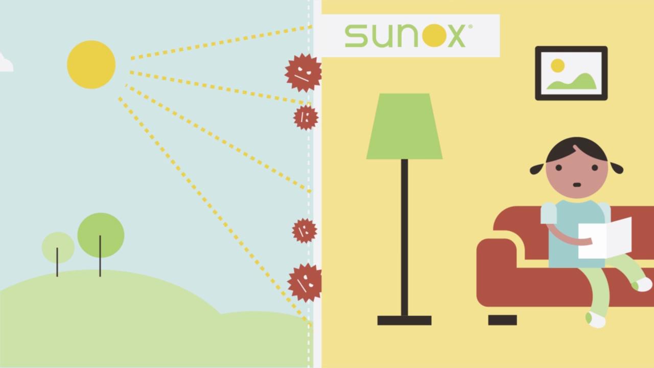 Zanzariere con rete antibatterica Sunox ® | Solartende