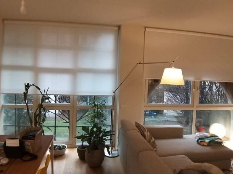 Tende moderne per soggiorno